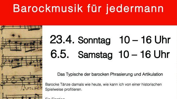 Workshop Barockmusik